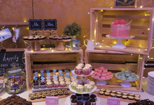 Dessert table  by Happily Ever After