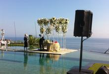 Bali Bossa Band & RVK Sound at Tirtha Bali by BALI LIVE ENTERTAINMENT