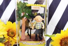 Birthday gift idea (single miniature in a box) by de hijau hejo