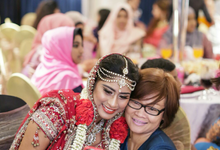 Bee Meera's Wedding by YRegina Makeup