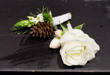 Melita's bouquet by glasshouse FLORIST