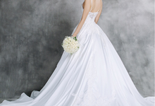 Wedding dress by Francesca Couture