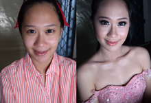 Ms Annabella - sweet17 makeup by Sherly Sadikin MakeUp
