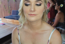 Danielle Evans Wedding by Fikri Halim Makeup Artist