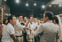Intimate Wedding Day of Anan & Silvi by Kalamila