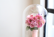 Beauty & The Beast Inspired Preserved Wedding Bouquet by Camila V Flower Preservation Studio