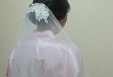 Beautiful Bride Sharon by Chrestella Lorita MUA