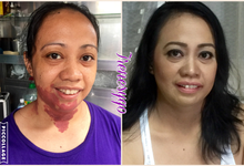 Before & after by Irene Sy Go Makeup