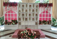 Couples Backdrop by Hizon's Catering