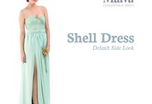 Shell Dress by MALVA Bridesmaids