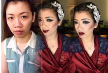 makeup for yessi & her sister (semarang) by Imel Vilentcia Make Up Artist