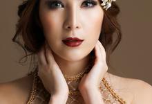Beauty shoot collaboration by Areta Kristi Makeup Artist