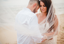 Malinda and Braden's clifftop wedding by Bali Diva Event Management