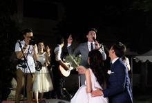 Wedding of Frans Muller & Pricil by Kana Entertainment
