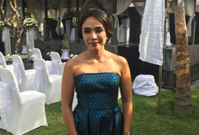 Tropical Wedding of Louise and Antonius Steven by MC Nirmala Trisna