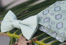 Bow Tie reference for summer beach wedding by Noeud Papillon
