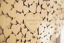 The Wedding of Bunga and Louis by Maeera Decoration