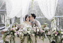 Vintage Wedding : Yura & Vanessa Espousal by Elsie Chrysila Brides