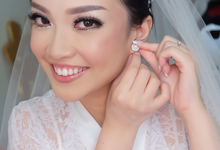 Wedding of Bertha & Setiven  by sherlyamakeup