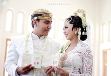 Wedding mitta and bowo by redboxphotos