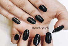 Queen Nails (plain) by Posh Tips Salon & Spa