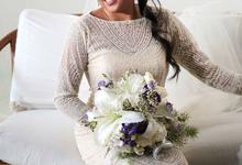 Bride: Trissa Gallaga by LASALA