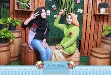 Photo booth Ivi & Irfan by RTDI Soho Photography