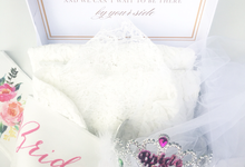 Bride and Bridesmaids Gift Box III by dydx Bride