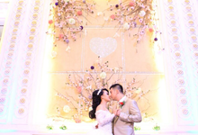 Elice & Tommy Wedding by Power of Make Up by Khaterine