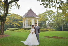 AMT & EK prewedding  by Zinny Theint Make-up Artistry