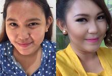 Makeup For engagement by Dewi Julia Lestari