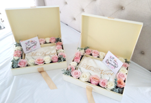 """""""Will you be my bridesmaid"""" set by A Thousand Blooms"""