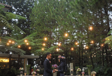 BLUETANICAL WEDDING Satria & Citra by GHAISANIYARA WEDDING