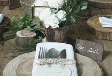DREAMY WOODLAND BRIDAL SHOWER by The Bloomingbuds