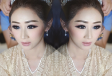 Wedding makeup for Irene (palu) by Imel Vilentcia Make Up Artist