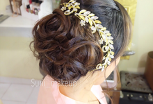 Hairstyle by surii_makeup by surii makeup artist