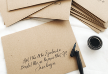 Envelope Addressing by Meilifluous Calligraphy & Design