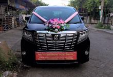 Rental Wedding Car Alphard Surabaya by SENTOSA JAYA VIP WEDDING CARS SURABAYA