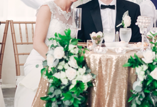 Winter Wedding by L&A Event Designs