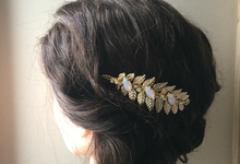 Garden Themed Hair Pins by Vera & Evy