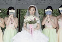 The Wedding of Hendy & Velina by Wisteria Beauty and Design