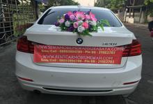 BMW White Tahun 2014 type 320i New Model by SENTOSA JAYA VIP WEDDING CARS SURABAYA