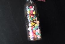 Shabby Chic Bottles by greetingsbottle.id