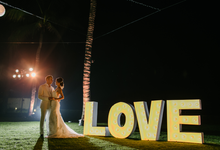 Caslin and Christian Wedding by BALI UNFORGETTABLE WEDDING AND EVENT PLANNER
