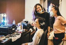 Our bride Janice Liu by Vinna Gracia Makeup Artist