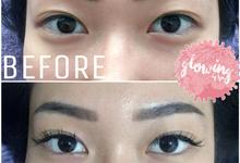 Eyelash extension by Glowingbylyn