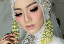 Wedding of chesa by Moza Make Up & Wedding Gallery