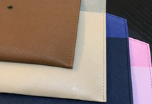 Premium material luxury pouch safiano by Gemilang Craft