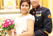 Lenie Armeña Wedding by Magic Touch by Klick Victoria