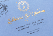 Morris + Sharon by Caramel Card